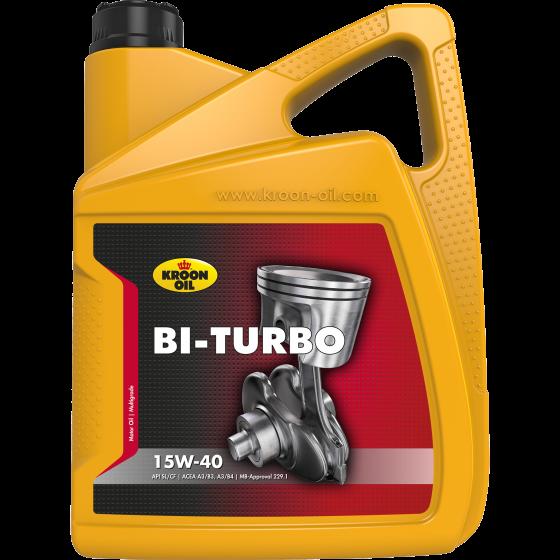 Олива моторна BI-TURBO 15W-40 5л